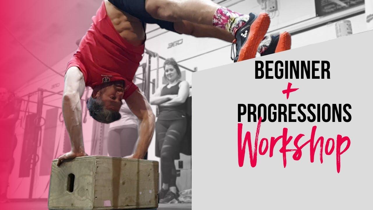 Beginner & Progressions Calisthenics Workshop Teaser   School of Calisthenics