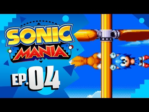 Sonic Mania - Part 4 | Flying Battery Zone! [Sonic & Tails Gameplay]