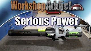 EGO LB5302 Power+ 56V Cordless Blower Review - 530CFM