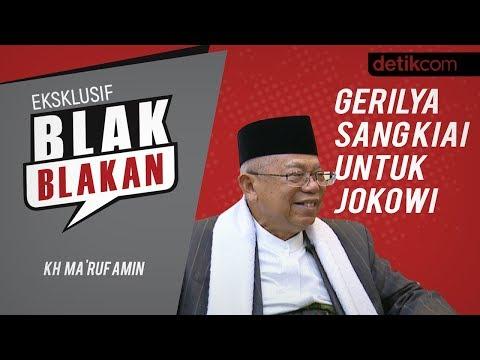 Blak-blakan Ma'ruf Amin, Aksi 212 dan Gerilya untuk Jokowi!!