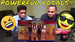 4th Impact raise the roof with Jessie J hit |Auditions Week1| The X Factor UK 2015 REACTION/BLOOPERS - Stafaband
