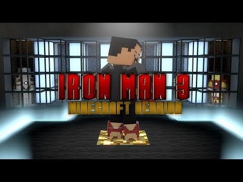 Iron Man 3 - Minecraft Version (Animation)