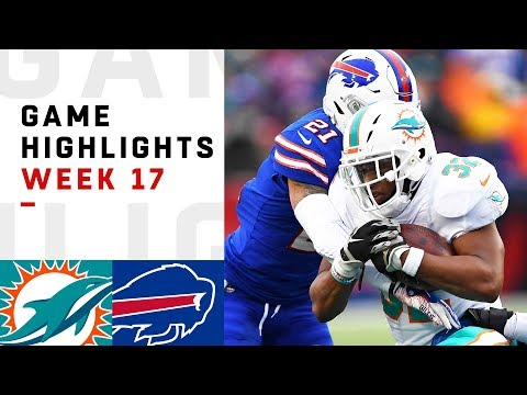 Dolphins vs. Bills Week 17 Highlights | NFL 2018
