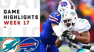 Dolphins vs. Bills Week 17 Highlights