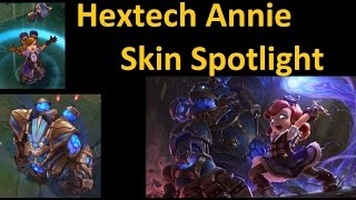 Hextech Annie Skin Spotlight League Of Legends Imazi