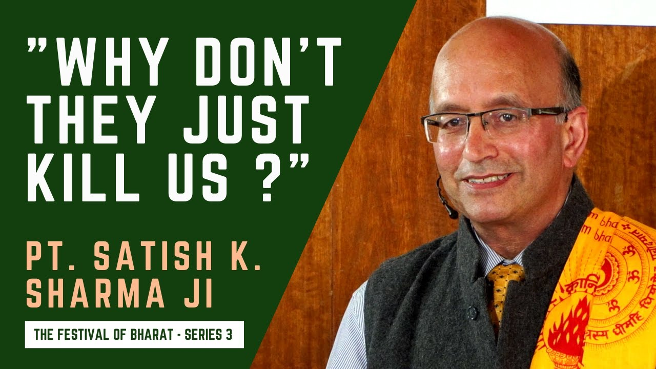 """S3: """"It's beastly how we treat Indians.."""" Lord Hastings' niece quoted by Pt. Satish K. Sharma ji"""