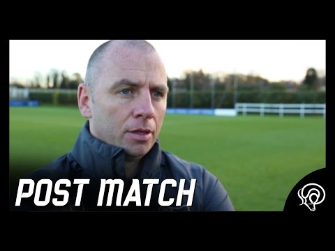 POST MATCH | Pat Lyons Post Leicester City U23s (A)