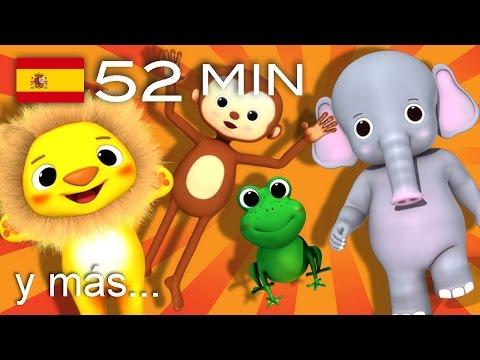 Canciones de animales | Parte 2 | ¡52 min de LittleBabyBum!