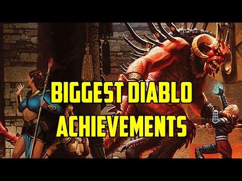 Biggest Achievements by Diablo Players