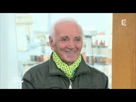 Portrait et interview de Charles Aznavour