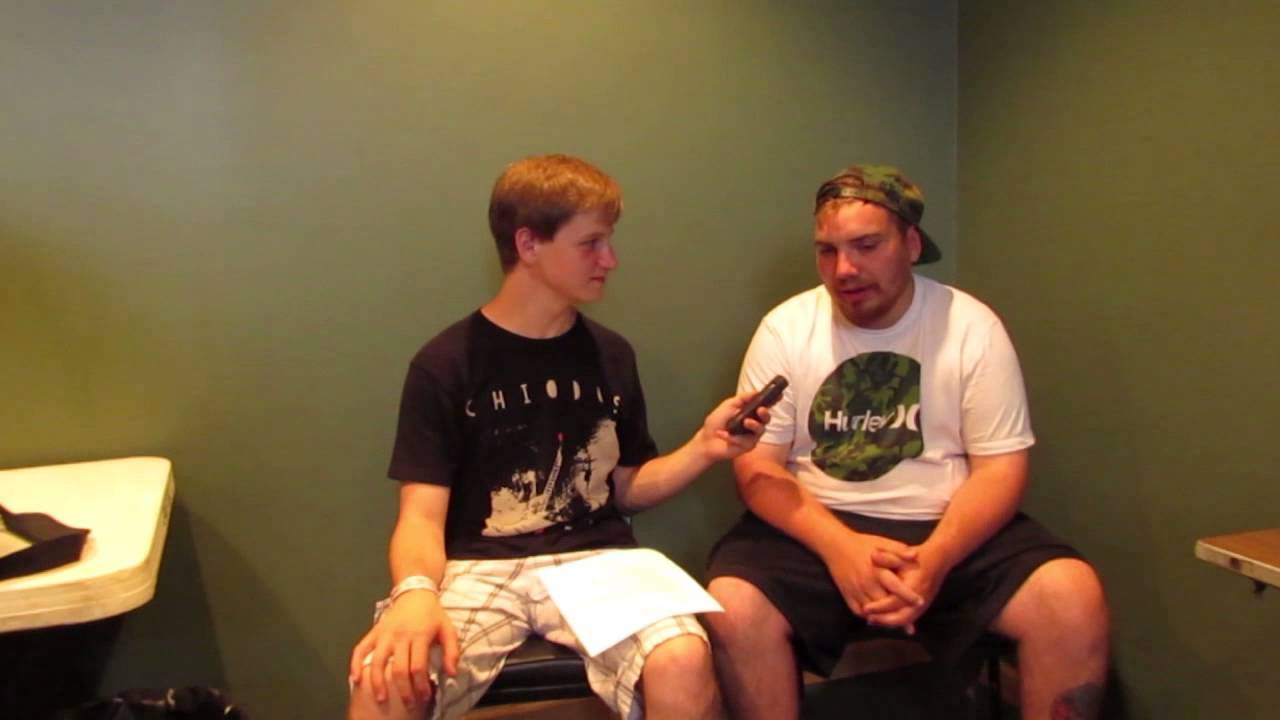 Front porch step interview