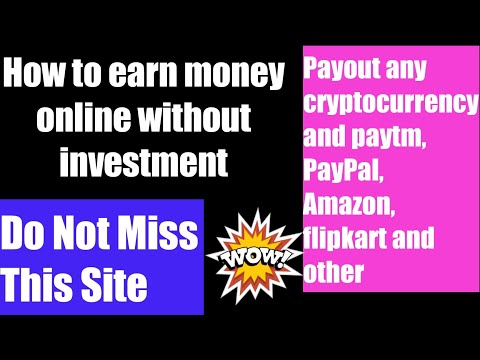 How To Earn Money Without investment/earn cryptocurrency without investment
