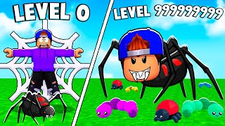 ROBLOX BE A SPIDER TYCOON!