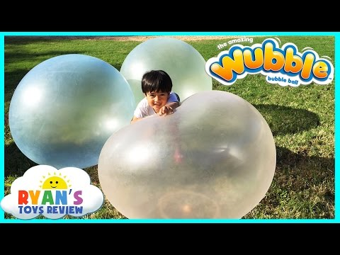 Thumbnail: WUBBLE BUBBLE BALL Family Fun playtime outside with GIANT BALL kids Video Ryan ToysReview
