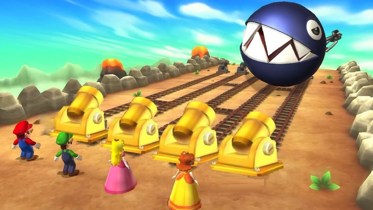 Mario Party Series - Cannon Minigames (Master CPU)