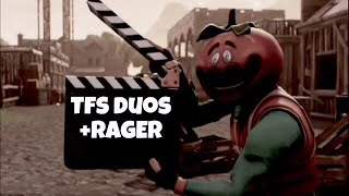 TFS best duo w/ rager! Can we keep getting wins? Fortnite battle royale
