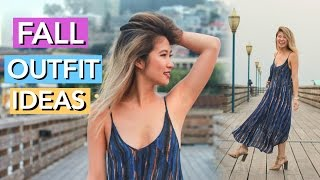 Early Fall Lookbook 2016! 4 Outfit Ideas!