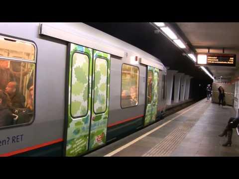 RET metro type SG2 metrostation Beurs Rotterdam