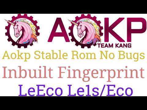 New Stable Rom Aokp with Inbuilt Fingerprints No bugs