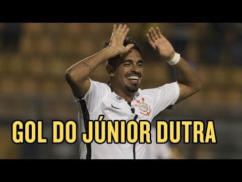 Corinthians x São Caetano - Júnior Dutra faz seu primeiro gol com a camisa do Timão