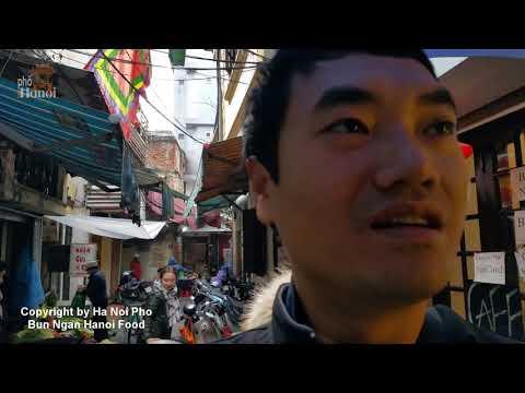 XẾP HÀNG 30 PHÚT ĐỂ ĂN BÚN NGAN CHỬI Vietnamese food Hanoi Travel | Hà Nội Phố