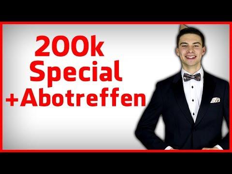 200k Abotreffen, Special & Wie du erfolgreich im Leben wirst.
