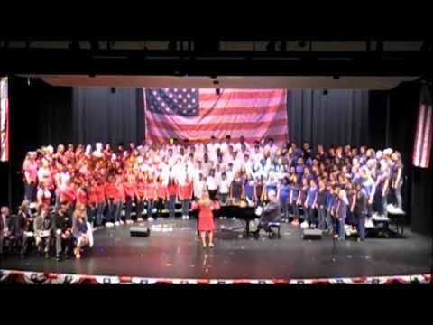 WKHS, WKMS, and CSMS Combined Chorus, Let Freedom Ring
