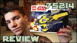 Lego Star Wars 75214 Anakin's Jedi Starfighter Review | Обзор ЛЕГО Звёздные Войны Война Клонов
