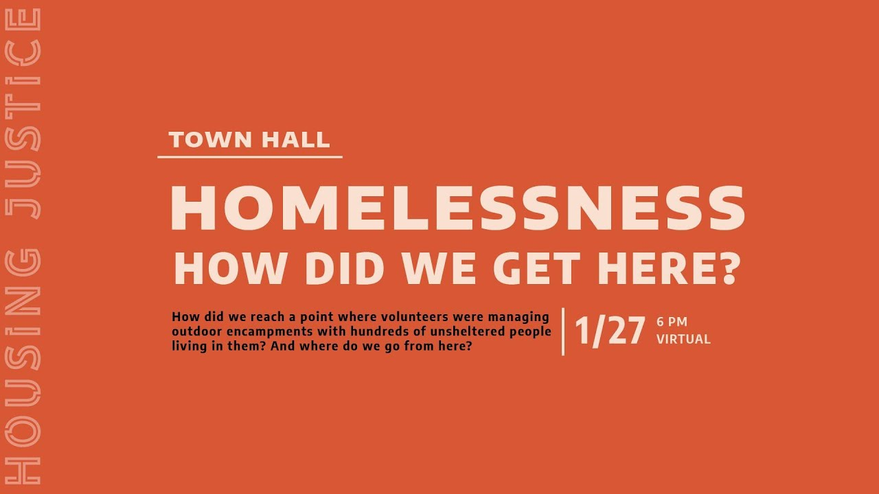 RECAP- Homelessness: How did we get here?