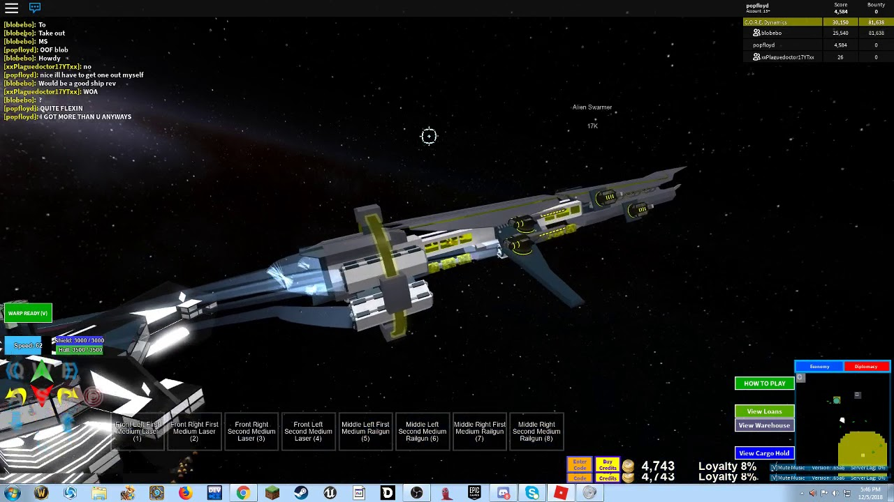 Best Battleship In Roblox Galaxy