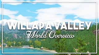 sims 3  World Overview: WILLAPA VALLEY