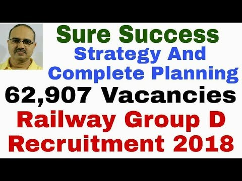 Railway Group D Recruitment 2018: 62,907 Vacancies: Strategy and Complete Planning