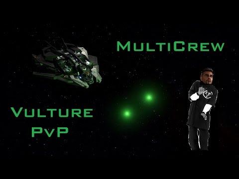Multicrew Vulture vs Gunship