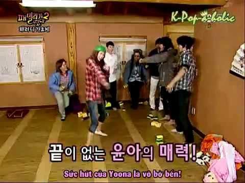 [Vietsub] SNSD - Family Outing Season 2 Ep 02_1_cut Yoona nhay cuc cute.flv