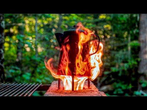 DIY Rocket Stove, Outdoor Kitchen, Golden Hour Life Hacks