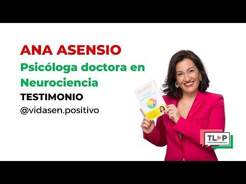 """Programa de mentoría """"Traspasa la Pantalla"""". Ana Asensio, psicóloga y doctora en Neurociencia."""