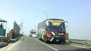 Comilla To Dhaka Highway 04| 2 Lane Highways | Meghna Bridge | Beautiful Bangladesh | Bangladesh