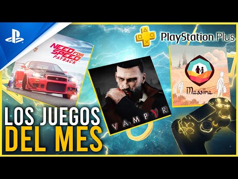 PROBAMOS los JUEGOS del MES de OCTUBRE de PS PLUS - Need for Speed Payback, Vampyr y Massira | PS4