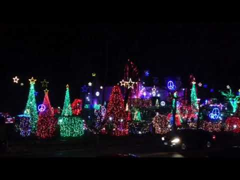 Michael J. - ABC-TV finds the Winner in their Great Christmas Light Fight in Virginia