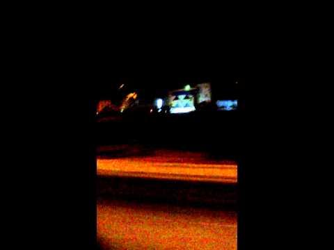 Night Riding City in Riyadh,Saudi Arabia