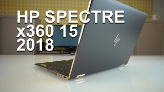 hP SPECTRE 360 15 2018 - unboxing the not-Vega model