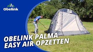 Obelink Palma Easy Air - Opbouwinstructie - Hoe zet ik een opblaasbare busvoortent op? | Obelink