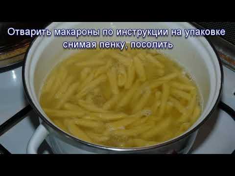 Молочный суп с макаронами