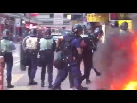 We condemn such violent acts Hong Kong Chief Executive
