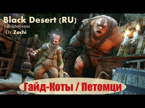 Black Desert (RU) Гайд / обзор Питомцы (Петы / Автолутер / Кот )