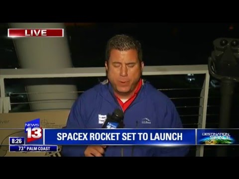 Enjoy Sonic Boom - Local Coverage - Historic Space X Landing