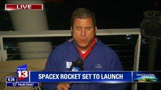 Enjoy Sonic Boom - Local Coverage - Historic Space X Landing