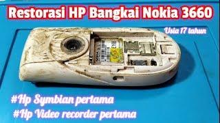 Restoration HP Bangkai Nokia 3660 usia 17 tahun