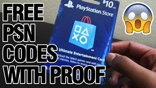 how to get free psn codes that actually works 2017