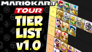 Mario Kart Tour - All Characters Ranked